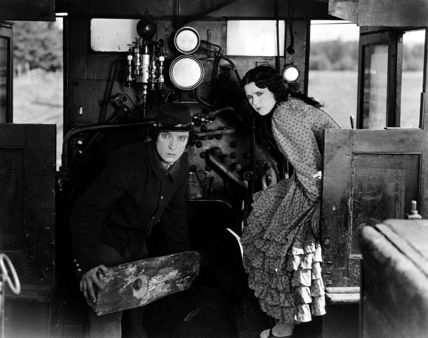 The General - 1926 - Buster Keaton
