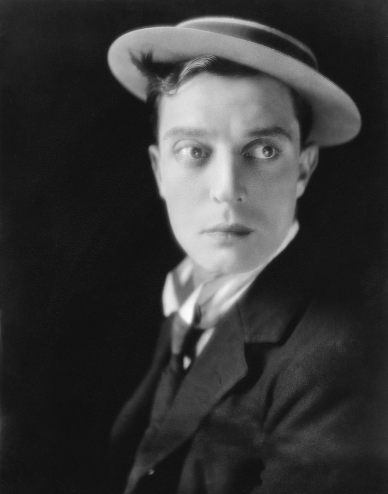 Buster Keaton - Joseph Frank Keaton Junior | 1895 - 1966 | Actor, director, producer, writer, stunt performer | Photograph