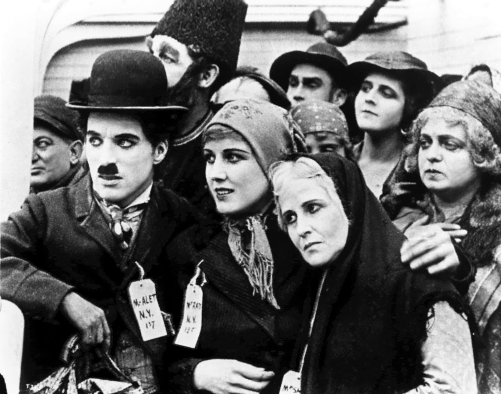 7 Art Cinema | Charlie Chaplin - 1917 - L'Emigrant | 01 | Photographie du Film