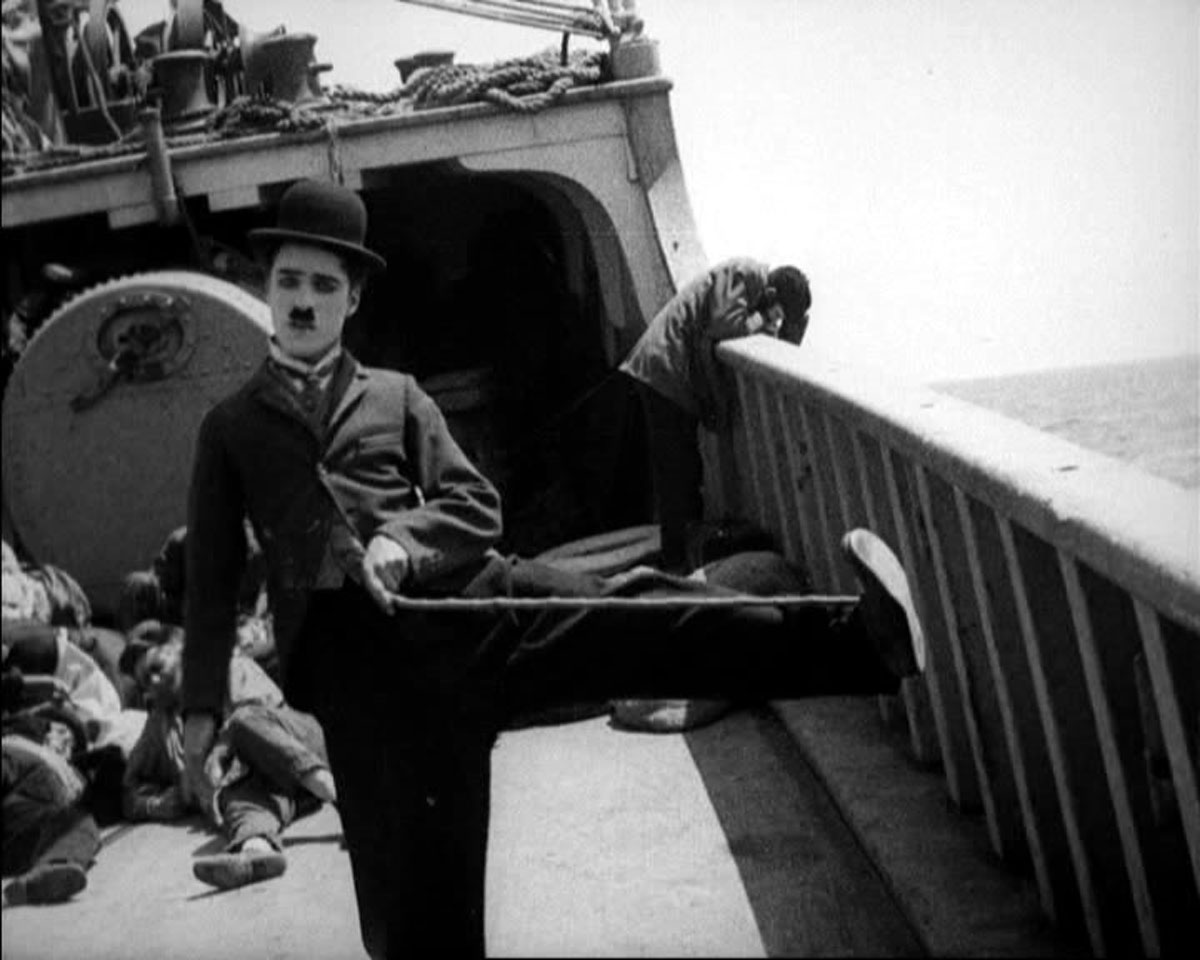 The Immigrant | Charlie Chaplin | 1917 - cover
