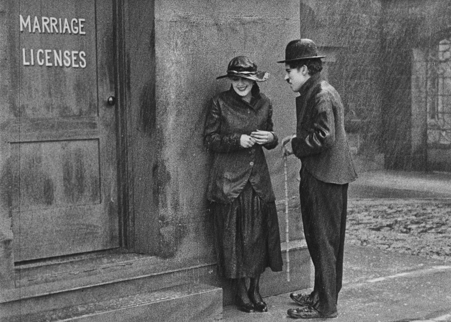 7 Art Cinema | Site Web Officiel | Charlie Chaplin - 1917 - L'Emigrant | 03 | Photographie du Film