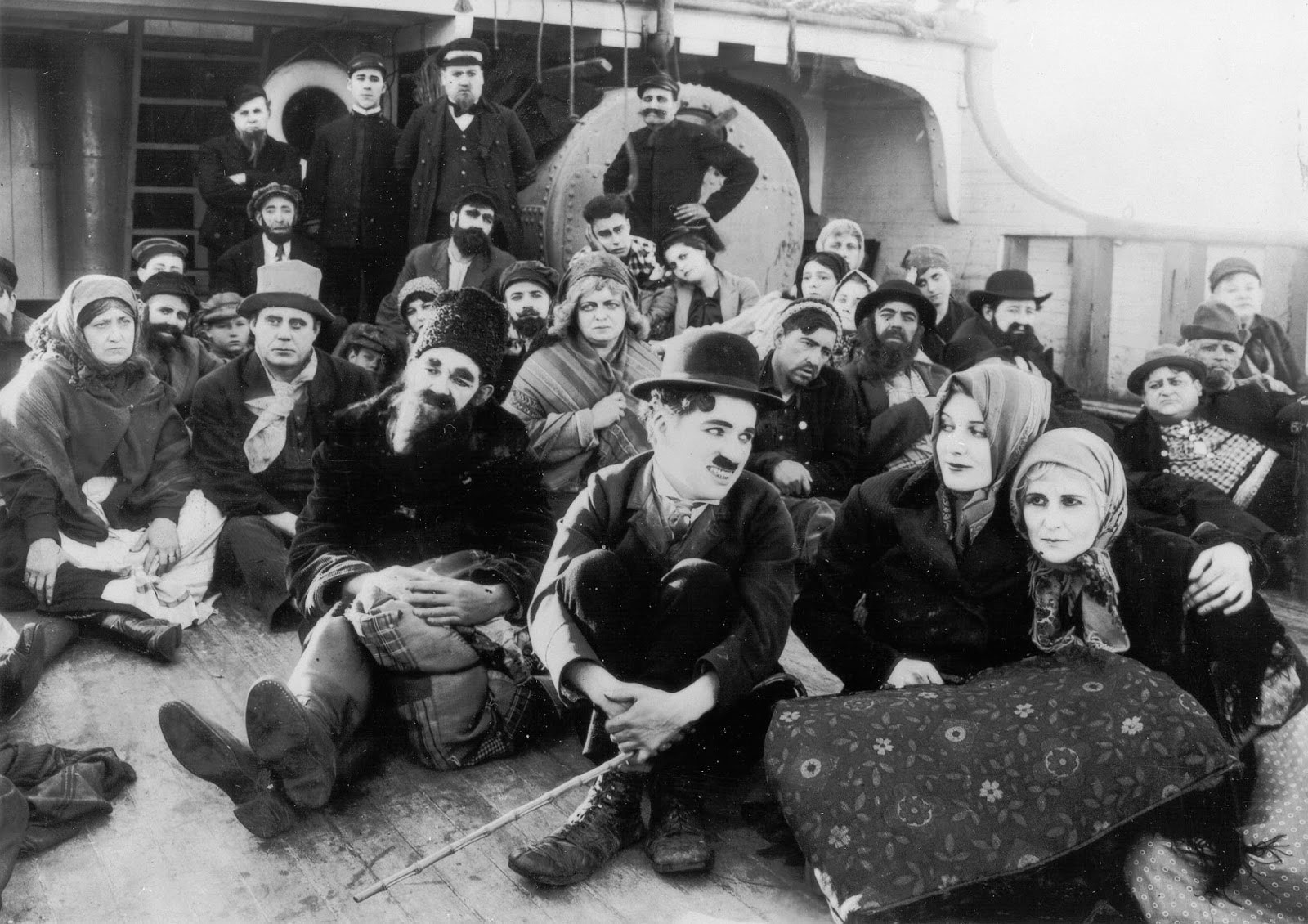 7 Art Cinema | Official Website | Charlie Chaplin - 1917 - The Immigrant | 07 | Film Photograph