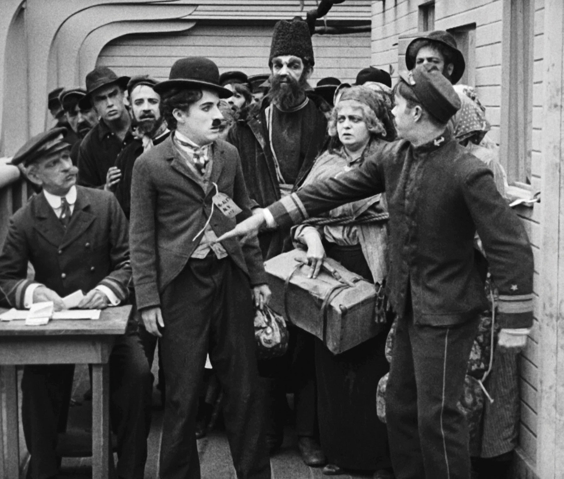 7 Art Cinema | Official Website | Charlie Chaplin - 1917 - The Immigrant | 11 | Film Photograph