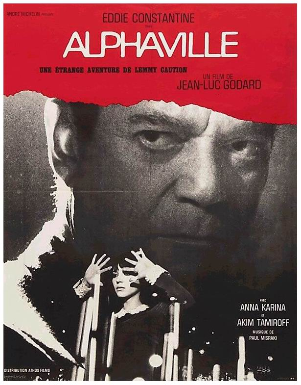 Alphaville - 1965 - Jean-Luc Godard - cover