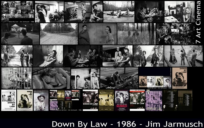 Down By Law - 1986 - Jim Jarmusch | John Lurie, Tom Waits, Roberto Benigni, Nicoletta Braschi | Menu
