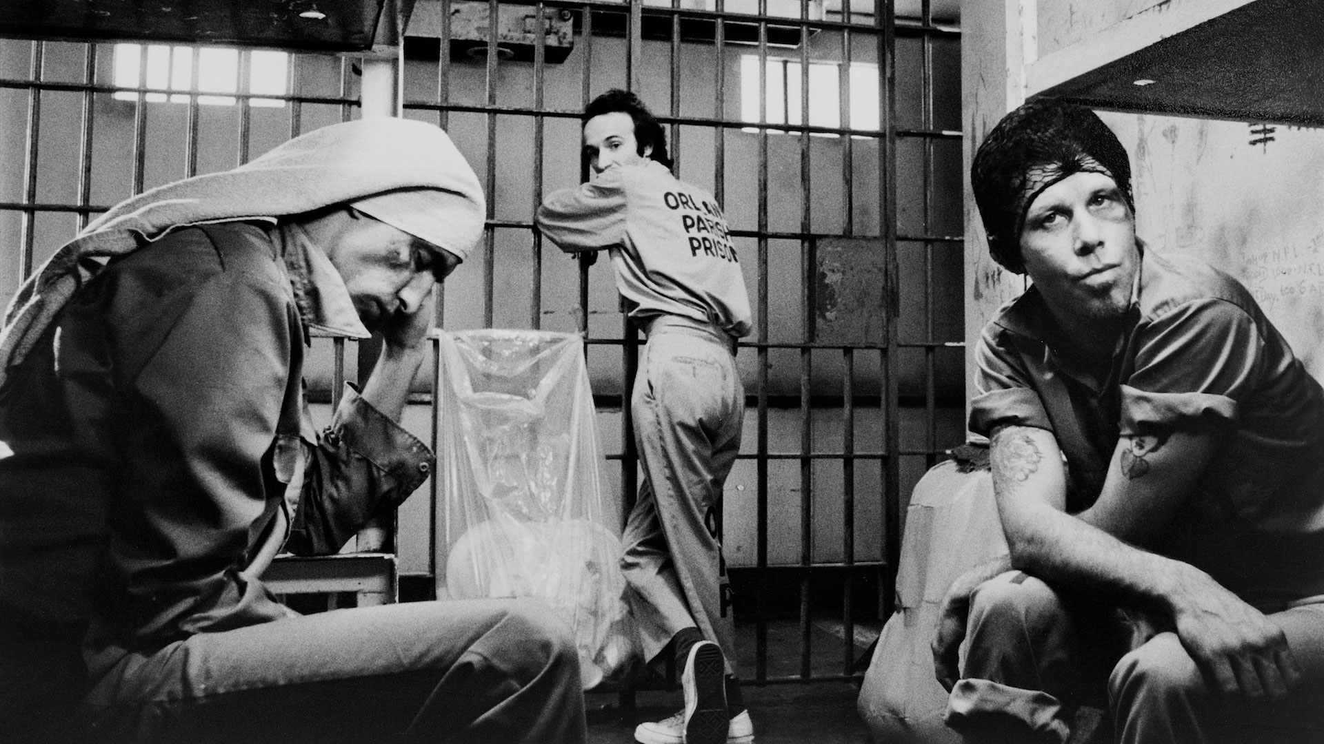 Down By Law - 1986 - Jim Jarmusch | John Lurie, Tom Waits, Roberto Benigni | Photo