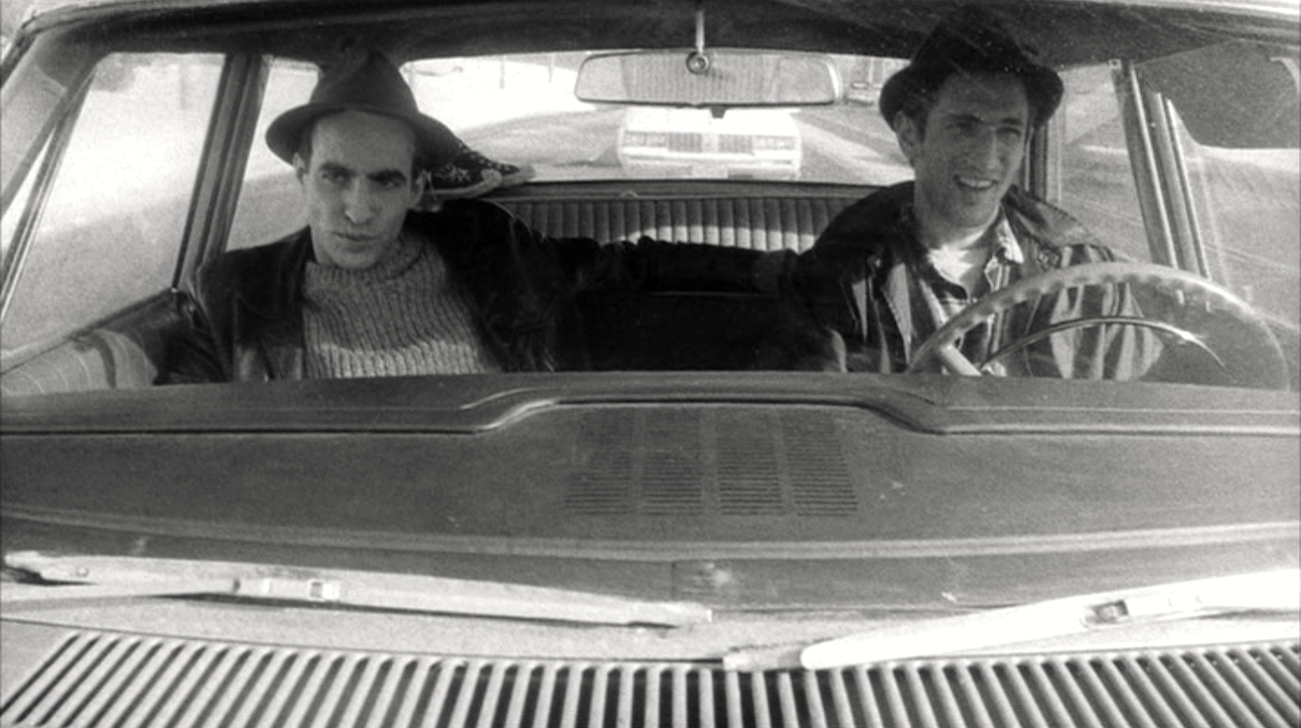 Stranger than Paradise - 1984 - Jim Jarmusch | John Lurie as Willie, Eszter Balint as Eva, Richard Edson as Eddie, Cecillia Stark as Aunt Lotte, Danny Rosen as Billy, Rammellzee as Man With Money, Tom DiCillo as Airline Agent, Richard Boes as Factory Worker, Rockets Redglare, Harvey Perr and Brian J. Burchill as Poker Players, Sara Driver as Girl With Hat, Paul Sloane as Motel Owner | Directed by Jim Jarmusch, Produced by Sara Driver, Written by Jim Jarmusch, Starring, John Lurie, Eszter Balint, Richard Edson, Cecillia Stark, Music by John Lurie, Cinematography Tom DiCillo, Edited by Jim Jarmusch, Melody London, Production company Cinesthesia Productions Inc., Distributed by The Samuel Goldwyn Company, Release dates 1984, Running time 89 minutes, Country United States, West Germany, Language English, Hungarian | Photograph